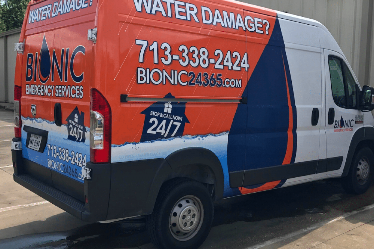 Bionic Emergency Restoration Services